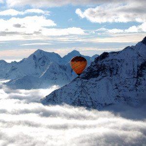 Volo in Mongolfiera, 1 adulto e 1 bambino - Valle d'Aosta
