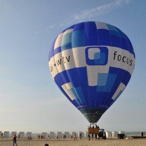 Volo in mongolfiera sui vigneti della Franciacorta - Lago d'Iseo