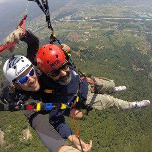 Volo in Parapendio biposto per principianti - Ivrea, Piemonte