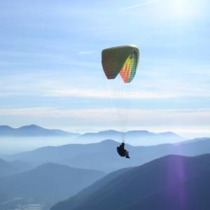 Volo in parapendio - Toscana