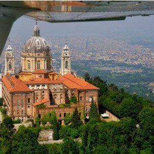 Volo sulle bellezze del Piemonte
