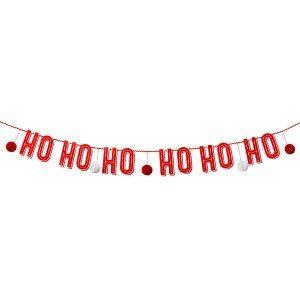 """Weihnachtsgirlande """"HO HO HO"""""""