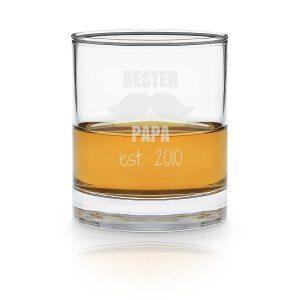 Whisky-Glas mit Gravur zum Vatertag