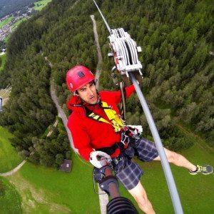 Zipline, discesa in teleferica -  San Vigilio di Marebbe, Bolzano