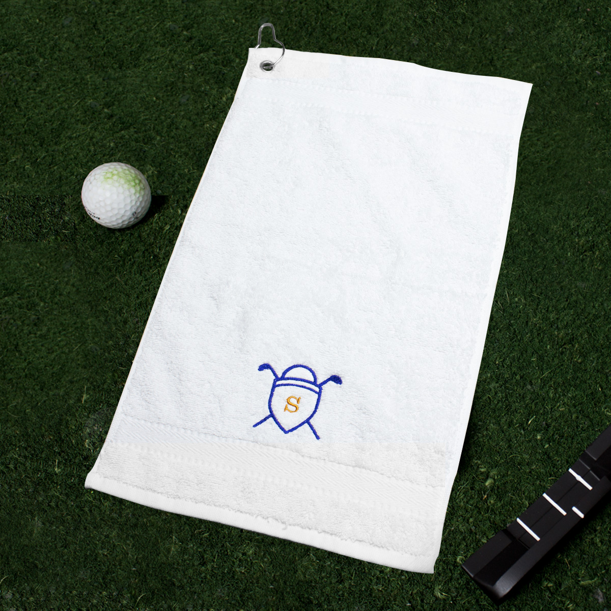 Image of Asciugamano da golf personalizzato