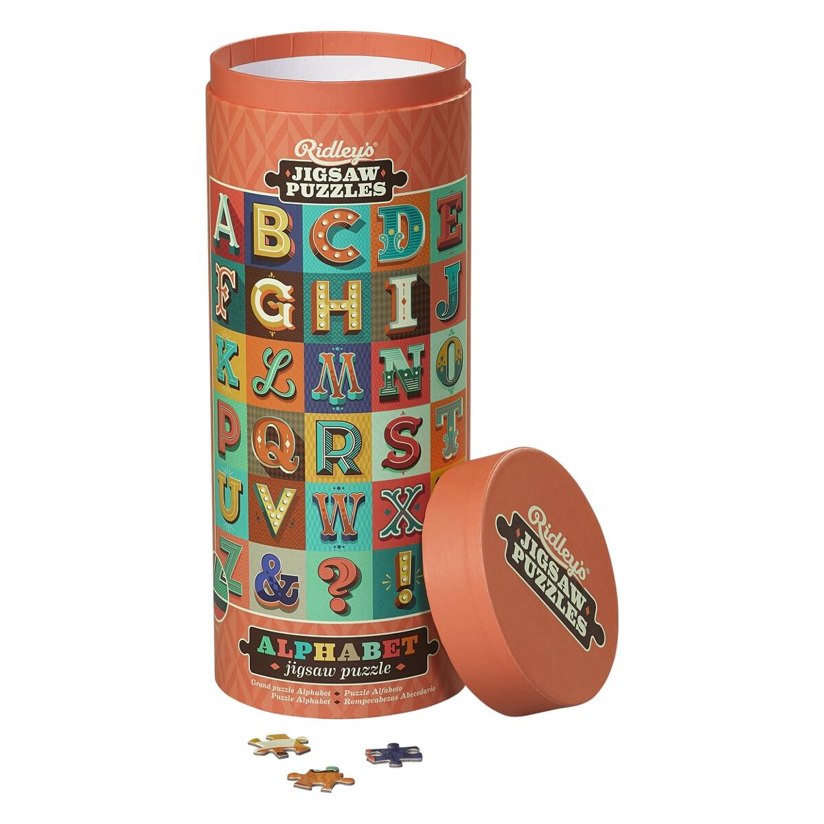 """Image of 1000 Puzzle """"Retro Alphabet"""""""